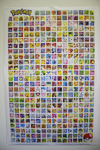 pokemon poster! by hool a hoop.