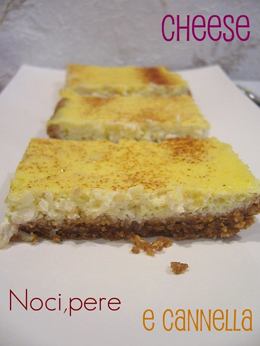 Cheese,noci,pere alla cannella