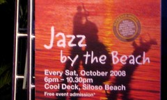 Jazz by the Beach at Sentosa Island