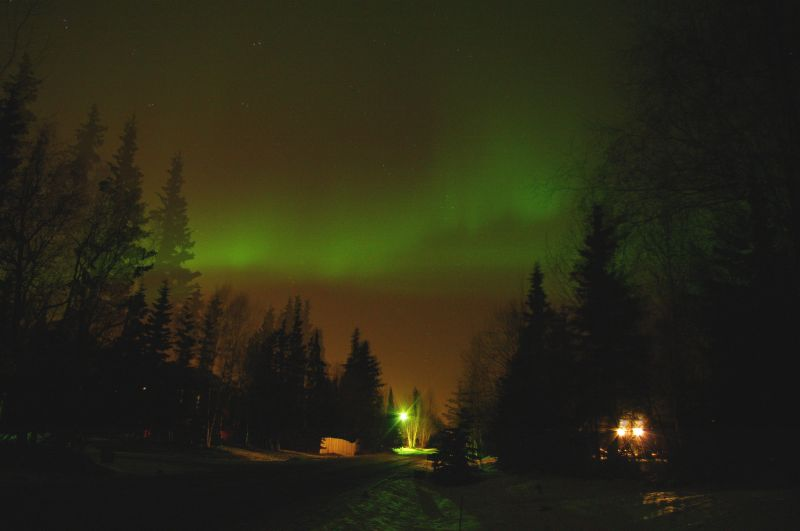 02-09 Aurora Borealis from My Place
