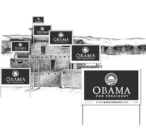 Real American Landslide for Obama