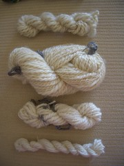 Mini skeins of 4 most recent