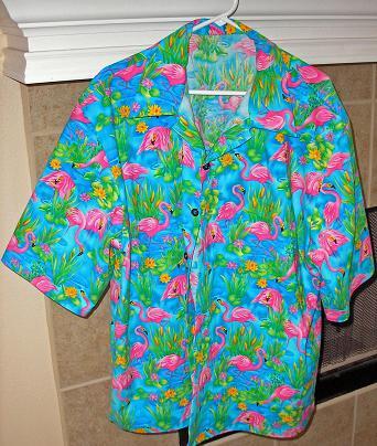 Flamingo shirt Steve