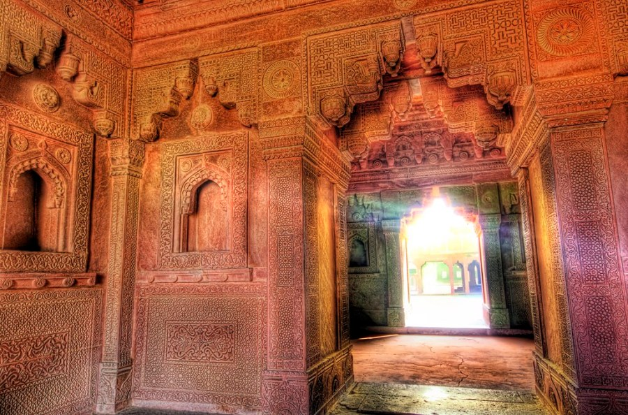 The Secret Rooms of Akbar's Palace at Fatehpur Sikri