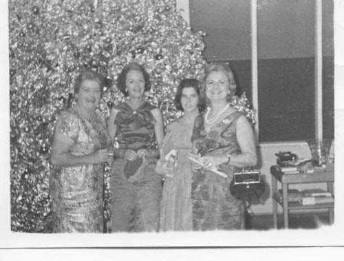 Silver Sprayed Tree and Watooka Ladies