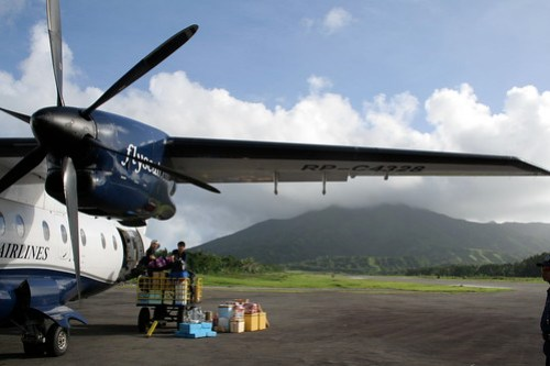 Dornier airplane at Batanes Airport