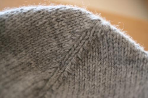 détail tricot