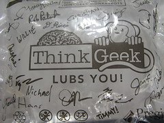 ThinkGeek lubs you :-)