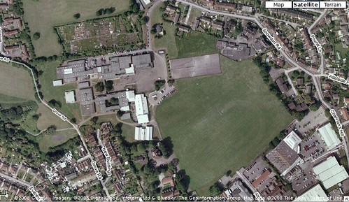 whitefield fishponds school from googlemaps