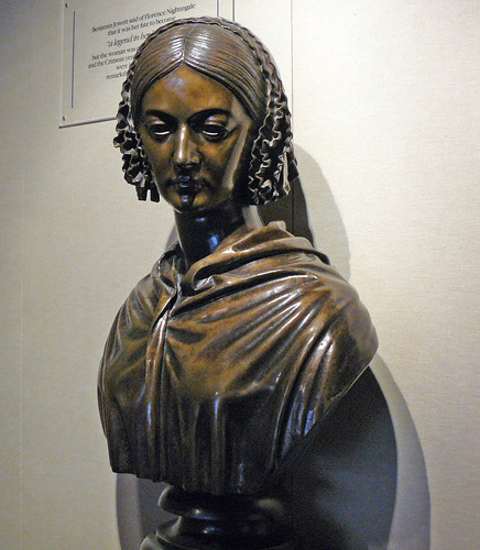 Florence Nightingale bust