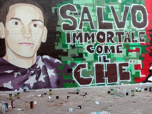 Murales per Salvo Barchi