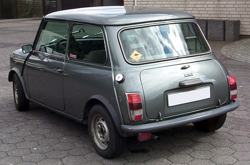 Probefahrers 87er Mini Mayfair 1000 Heck
