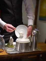 Nitro-Green Tea and Lime Mousse