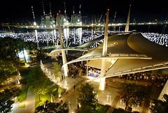 The New Year Countdown. Venue: Marina Bay, Sin...