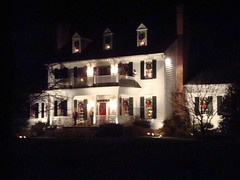 Holiday Light Tour Night Road Rally Casual Drive and back to dinner at West Padonia Road's Christopher Daniel Restaurant in Timonium with friends from Maserati of Baltimore