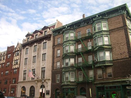 Fachadas caracteristicas de Hoboken