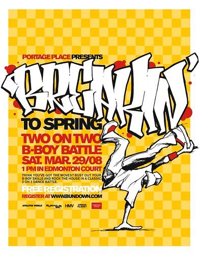 Breakin' to Spring 2-on-2 B-Boy Battle