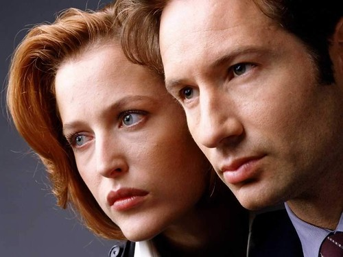 Scully y Mulder