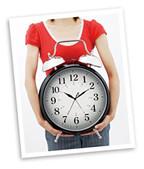Big freakin alarm clock