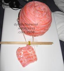 goddess shawl swatch