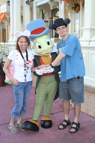 Us and Jiminy Cricket