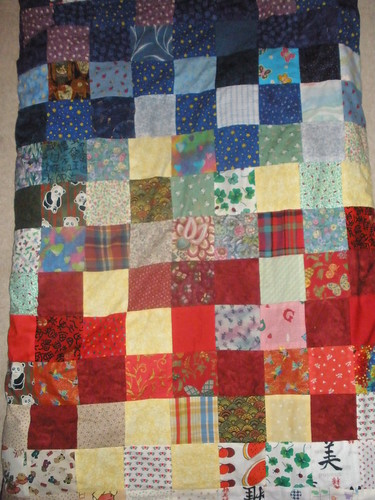 A Closer View of Sophia's Adoption Quilt