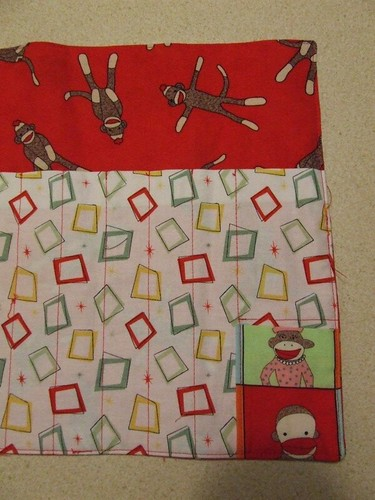 pencil roll close up of pockets