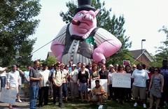 Protest Of Corporate Tax-Dodger Verizon