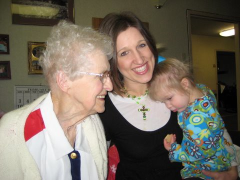 Great Grandma, Mommy, and Emily by amandacfisher.