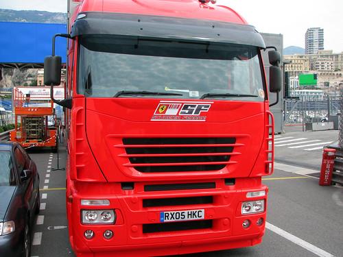 Controversy: Ferraris transporter