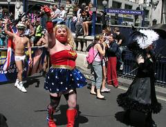 Wonderful Wonder Woman, London Pride, 2008