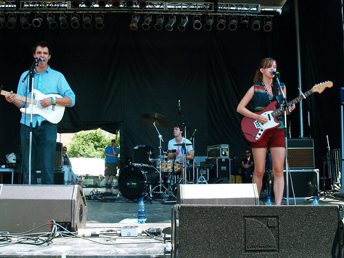 The Dirty Projectors @ Pitchfork 2008, Chicago 07/20/08