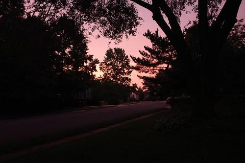 Sunrise on 2 August 2008