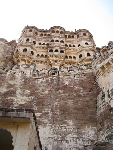 Jodhpur fort, from waaaaaay below