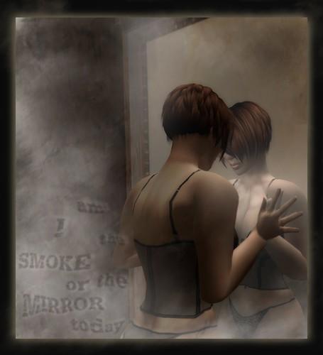 smoke and mirrors by Katiya Rhode, on Flickr