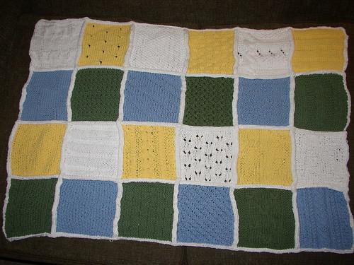Michelle's baby blanket