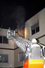Feuer Bürogebäude Nordenstadt 23.12.08
