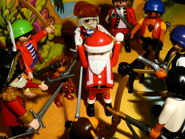 Santa Vs. The Pirates // Père Noël contre les Pirates