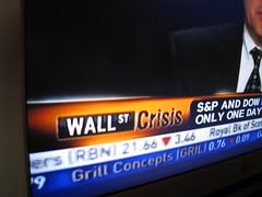 Wall Street Crisis