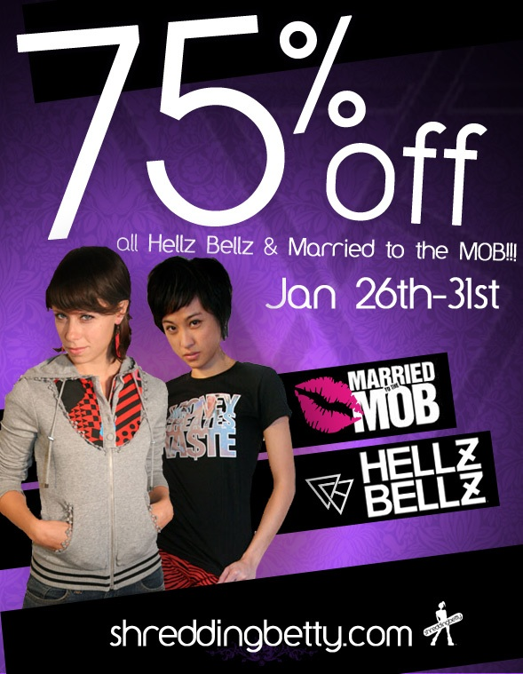 hellz bellz and married to the mob sale
