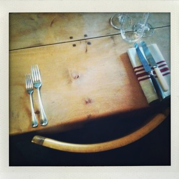 lovely dining table the agrarian kitchen