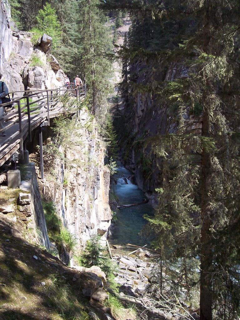 Johnston Canyon, Rocky Mountains, Alberta, Canada