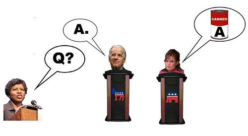 Palin -- Biden Debate is History