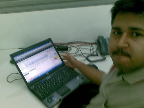 Me,Myself and My Visage @Office