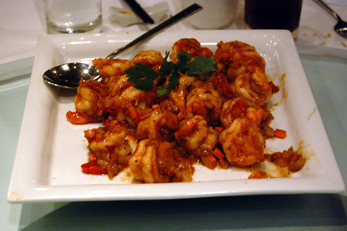 King Prawns in Chili Sauce