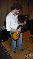 """""""Slash"""" guitar w/ flash"""