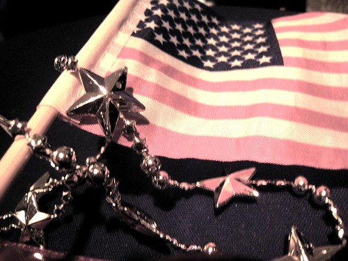 stars and stripes with some bling