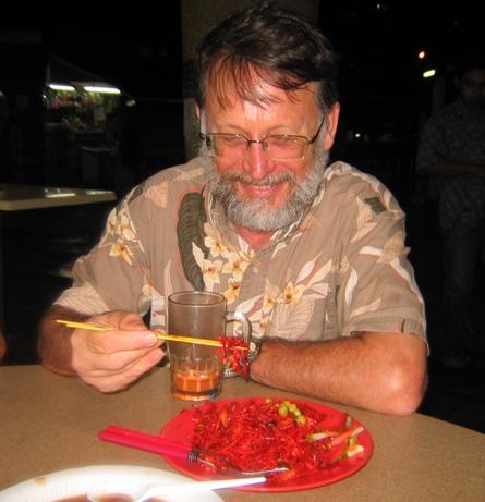 Dan and aposematic food