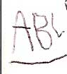 write my ABCs for Rowan