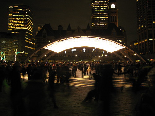 Opening of the Nathan Phillips Square Skating Rink